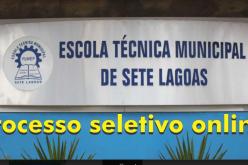 Escola Técnica abre inscrições para processo seletivo on-line de dez cursos profissionalizantes