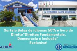 Em parceria, Fasasete  e Achieve Languages Sete Lagoas  sorteiam livro em Direito e uma bolsa de inglês  50%