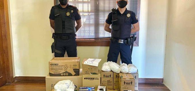 Guarda Municipal recebe equipamentos de proteção do Ministério da Justiça