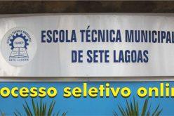 Prazo para inscrições do processo seletivo da Escola Técnica termina segunda-feira
