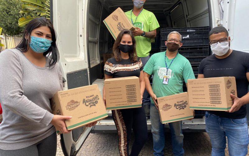 CRAMAM faz parceria com Assistência Social para distribuição de alimentos a 800 famílias