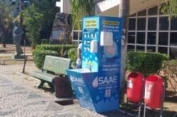 Prefeitura de Sete Lagoas instala totens de higienização em pontos estratégicos