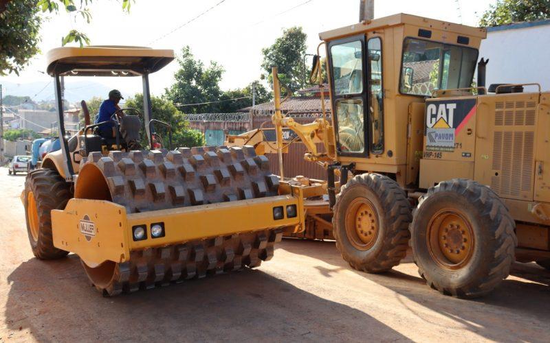 Verde Vale recebe segunda etapa das obras de pavimentação e serviço de saneamento básico