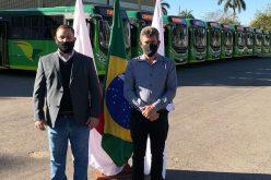 Cidade comemora um ano da unificação da bilhetagem eletrônica e recebe 11 novos ônibus