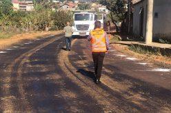 Depois de décadas, Verde Vale tem ruas pavimentadas e esgoto sendo canalizado