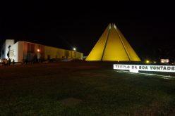 Iluminação especial em apoio ao Setembro Amarelo