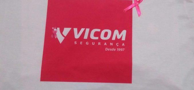 Outubro Rosa : VICOM promove ação interna de conscientização