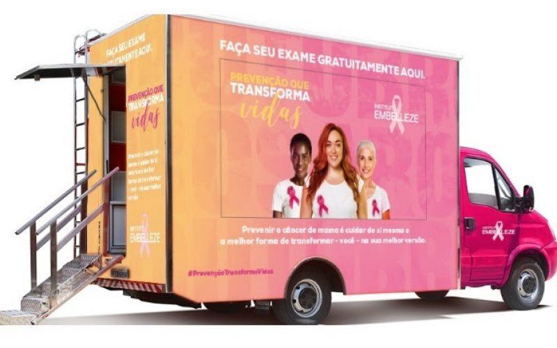 Instituto Embelleze promove ação de  prevenção ao câncer de mama