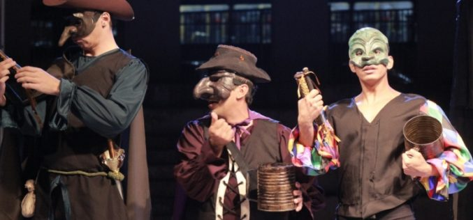 Clássico de Shakespeare encerra a Temporada de Teatro
