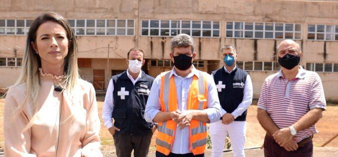 Primeira etapa do projeto para concluir Hospital Regional de Sete Lagoas é iniciada