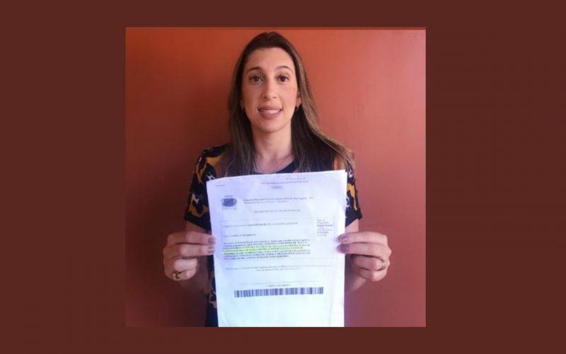 Vereadora Carol Canabrava solicita que o SAAE não corte à água de seus consumidores e não cobre juros sobre atraso