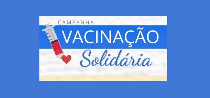 Campanha Vacinação Solidária arrecadou mais de 380 quilos em alimentos em dois dias