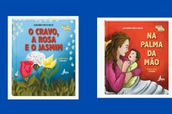 """""""Na Palma da mão """" e """"O Cravo, a Rosa e o Jasmim"""" são os lançamentos da Editora Ganguru neste mês"""