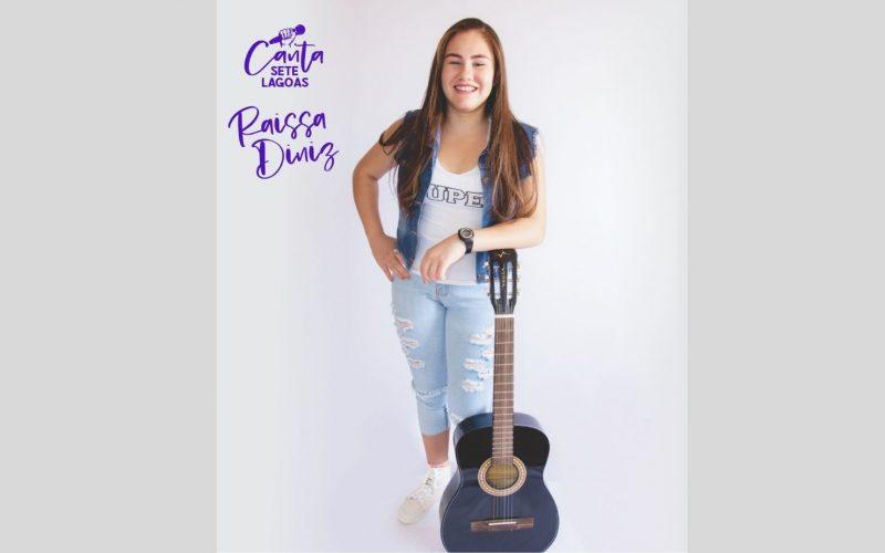 Raissa Diniz representa Minas Gerais no The Voice Kids 2021