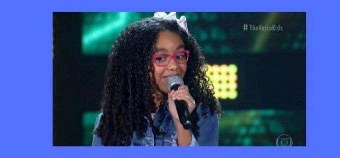 Elis Cristine representa Sete Lagoas no The Voice Kids 2021