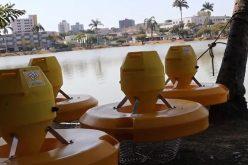 Prefeitura inicia a instalação de 10 aeradores na Lagoa Paulino