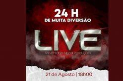 Live de Aniversário Grupo Alpha Produções : 24 horas !