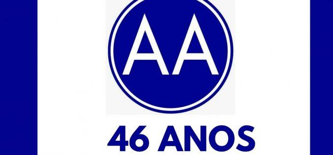 Alcoólicos Anônimos (AA) comemora 46 anos em Sete Lagoas com escritório em novo endereço