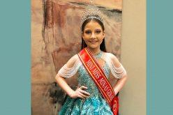 Sete – lagoana conquista o titulo de Mini Miss Minas Gerais 2021